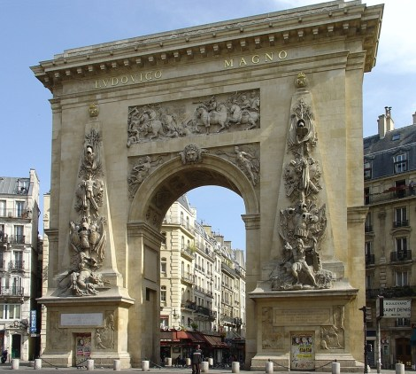 Deker's area - Porte Saint Denis