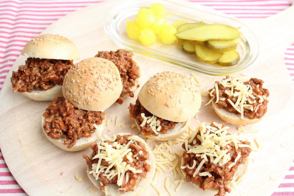 Mini Sloppy joe's