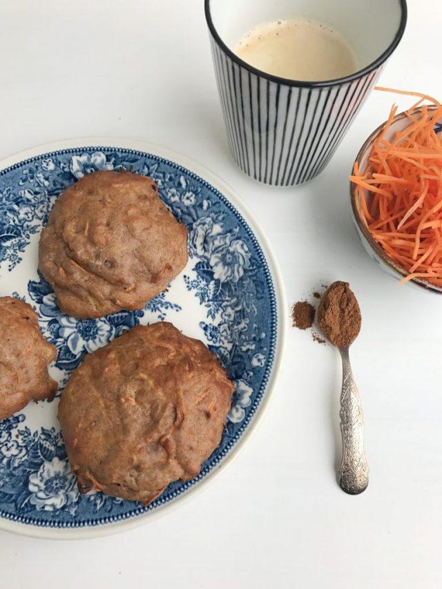Carrotcake kwarkbollen