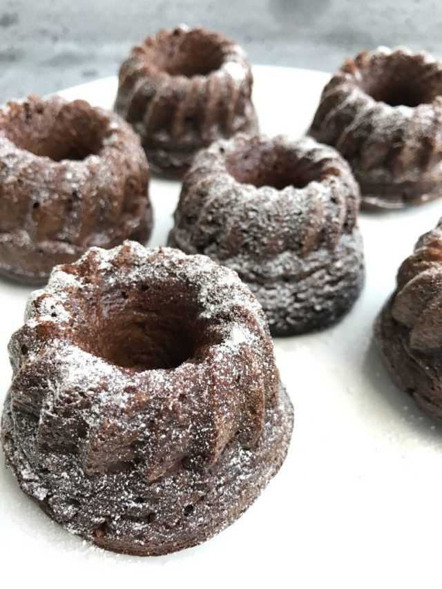 Glutenvrije chocolade tulbandjes