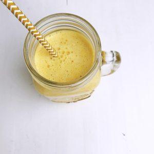 Golden chai orange smoothie