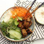 Poke bowl met vlees