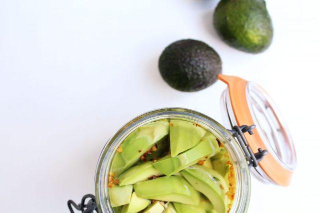 Avocado pickles