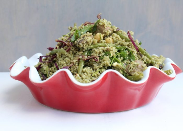 Italiaanse quinoasalade