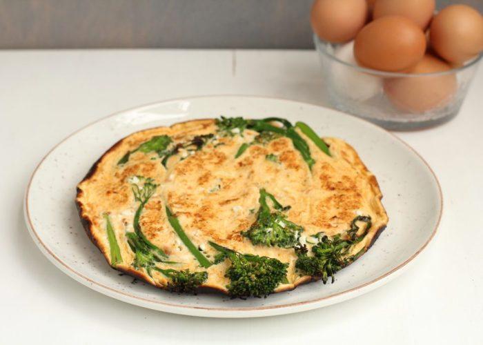 Omelet met bimi