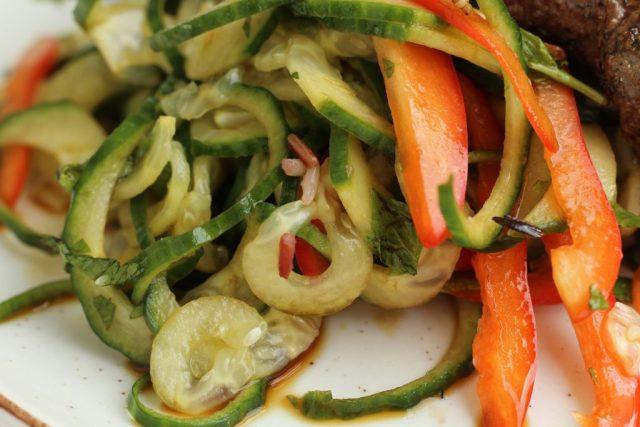 recept voor salade met komkommer