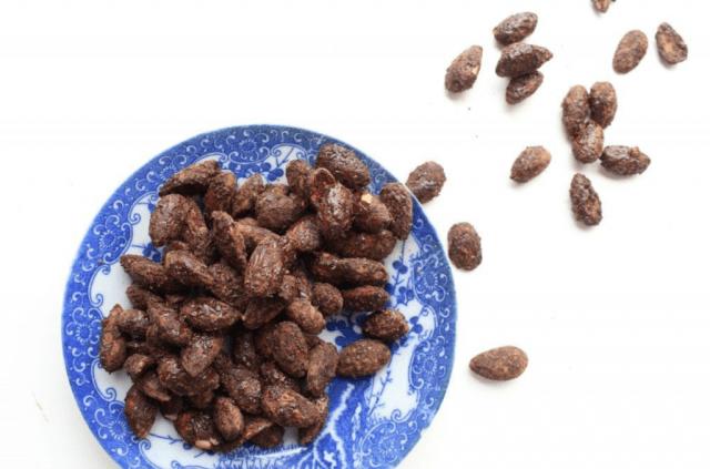 zelf chocolade amandelen maken