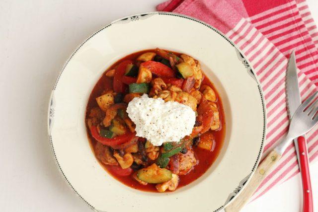 recept voor kip met groente