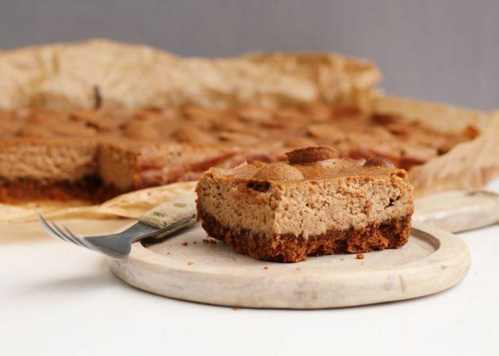 Cheesecake met pepernoten