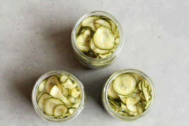 recept voor ingelegde komkommer