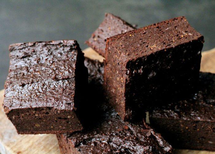 brownies met kikkererwten