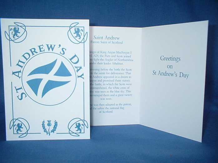 St Andrews Day Greetings