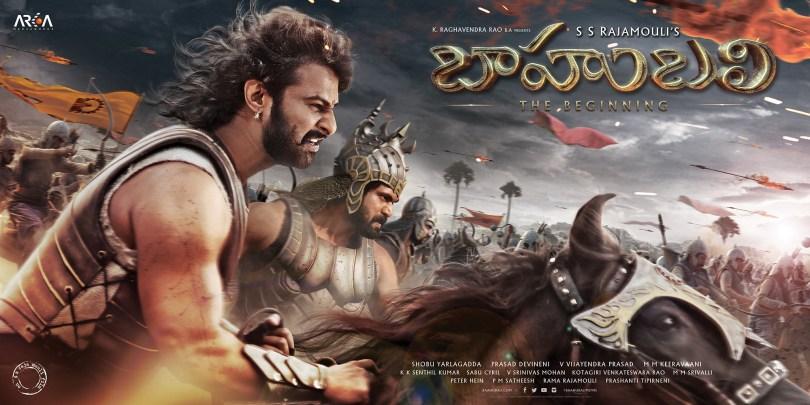 Hyderabad: Stills from Telugu film `Baahubali`. (Photo: IANS)