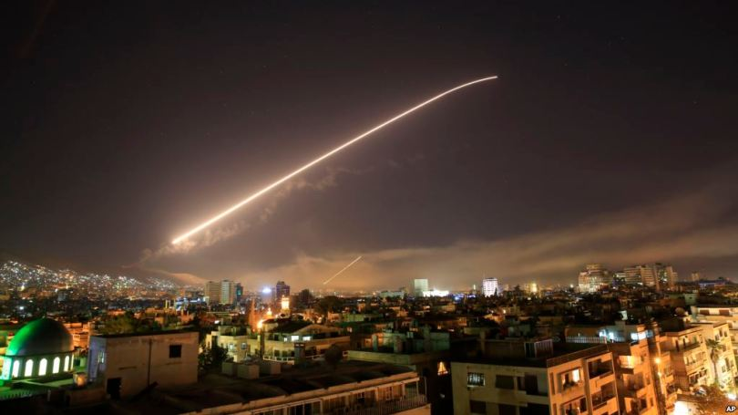 'Large part' of Syria's chemical arsenal destroyed in air strikes: France