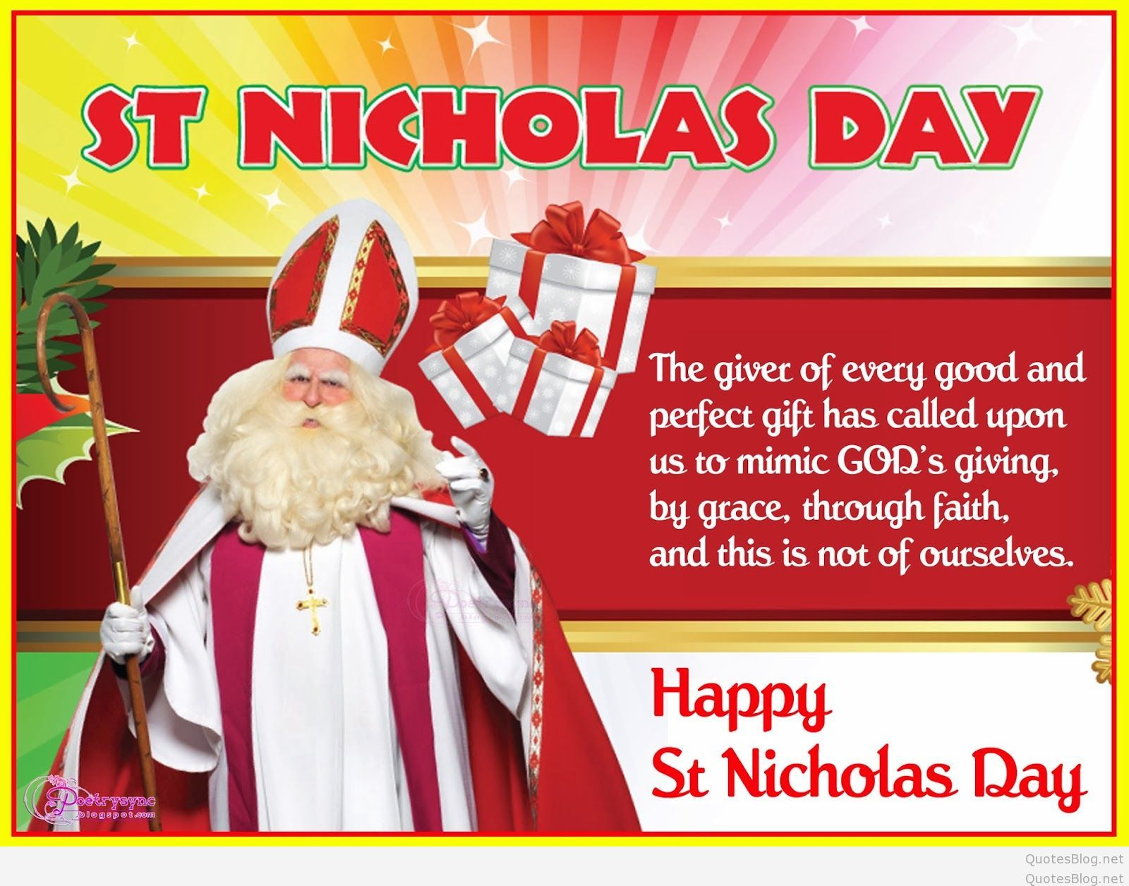 Happy St Nicholas Day 2018 Quotes Sayings Status