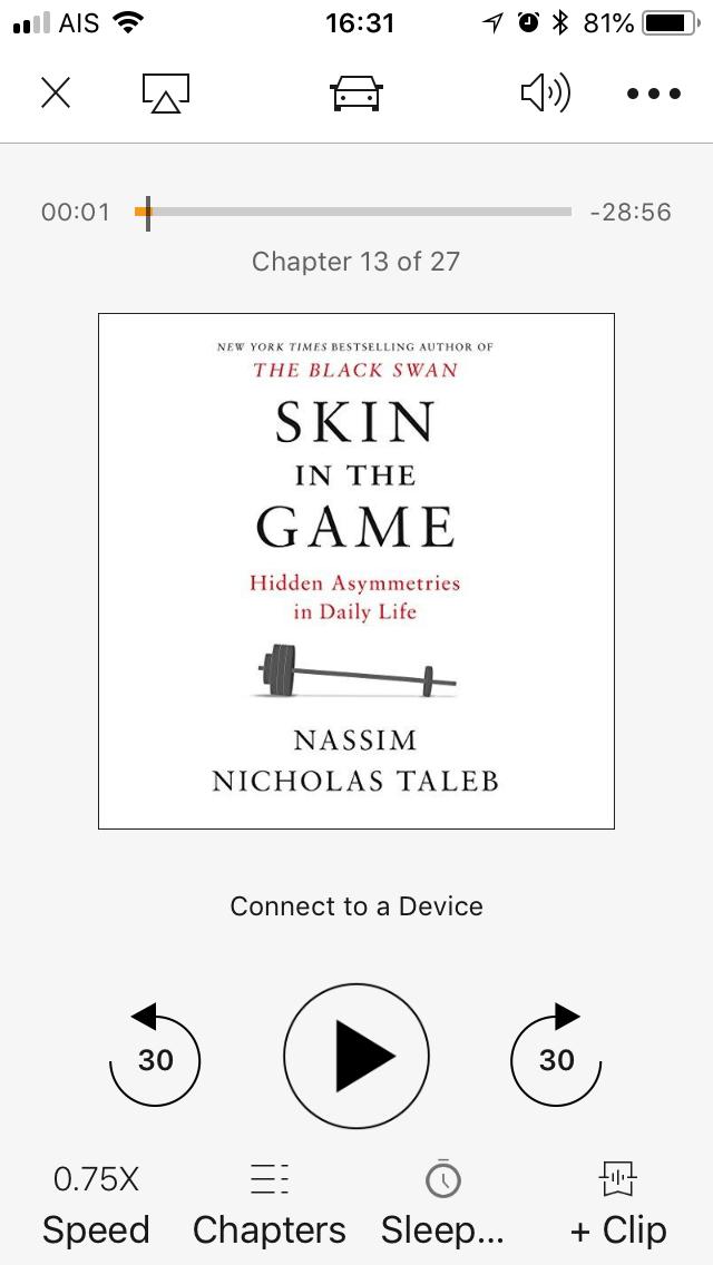 454: รีวิวหนังสือ Skin in the game (Nassim Taleb)