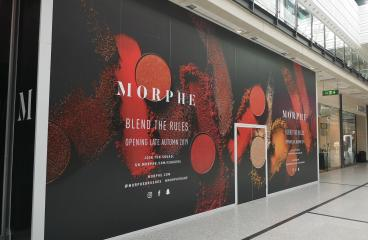 Morphe, at the Arndale Centre, Manchester