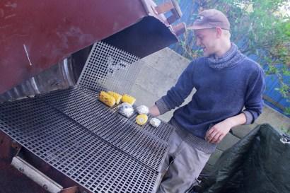 Marten en zijn barbecue