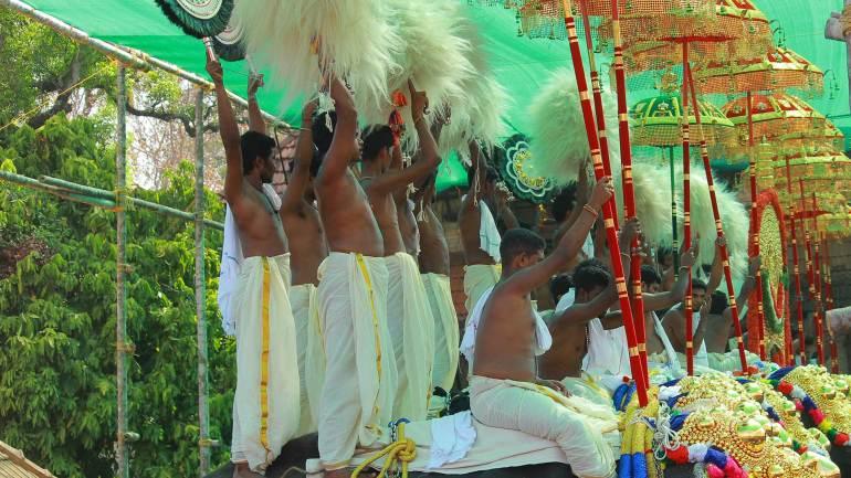 Alavattam and Venchamaram-Muthukkuda-Thrissur Pooram