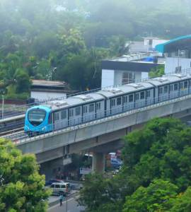 Kochi-Metro-Rail-Kochi metro train-Kochi-Metro-Car, Kochi Metro Rail, Kochi Metro Parking and Parking Rates