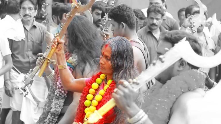 Velichappadu-Oracle- Kodungallur Bharani festival-Kodungallur Bhagavathy Temple