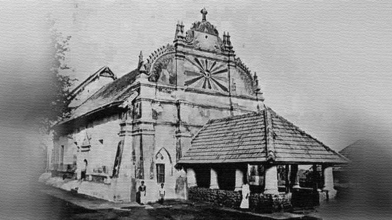 Martha-Mariam-Valiyapally-(St.-Mary's-Cathedral)-Kothamangalam---An-old-Photo