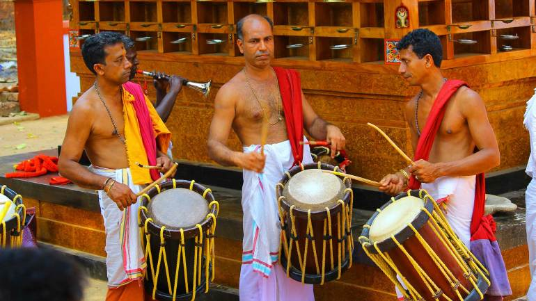 Drum-beats-(Chenda-Melam)-music-beats-for-theyyam-performance