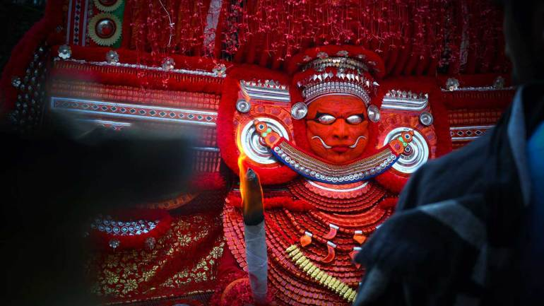 Muchilottu-Bhagavathy-one-of-the-most-important-Bhagavathi-Theyyams