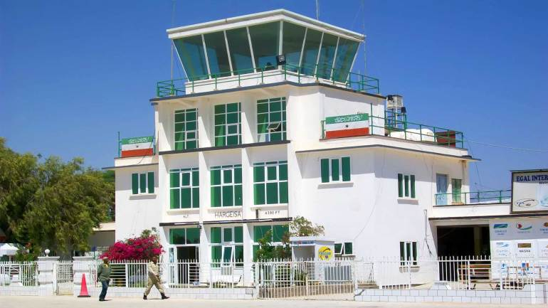 Hargeisa-Airport-(Egal-International-Airport),-an-airport-in-Hargeisa,-the-capital-of-Somaliland