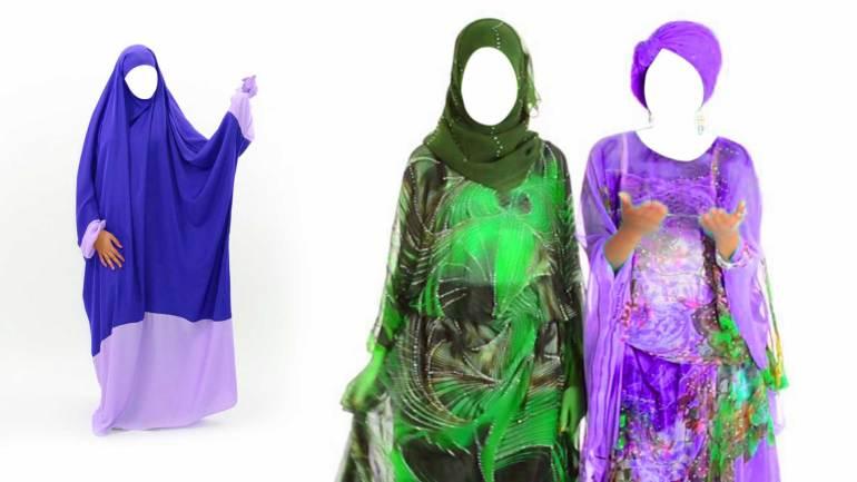 Somali-Jilbab-&-Dirac,-dress-of-women-in-Somaliland