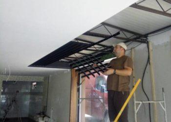 Proces de instalare tavane Grigliato