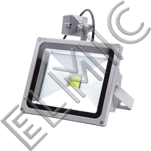 Naświetlacz LED z czujnikiem ruchu XH2501 30 W 230V 3500K 120 st. COB IP65 ELMIC Ciepła Biel