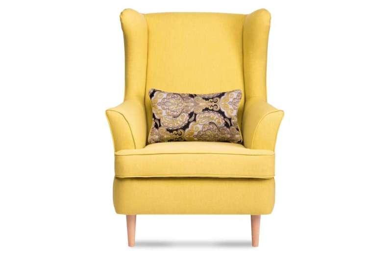 Fotel STRALIS żółty