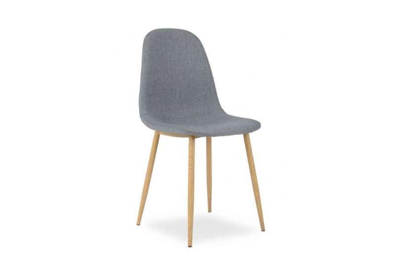 Krzesło MATRIS szary/dąb