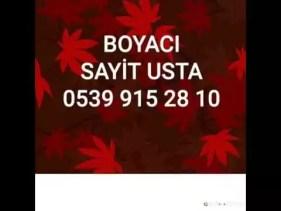 """Beyoğlu Boyacı Ustası-""""**** 915 28 10""""Beyoğlu (Boya Badana Ustası) SAYİT"""