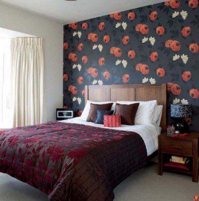 yatak başı duvar kağıtları