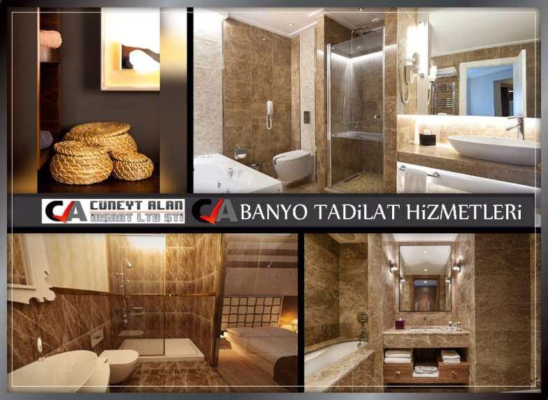 Banyo tadilat hizmetleri