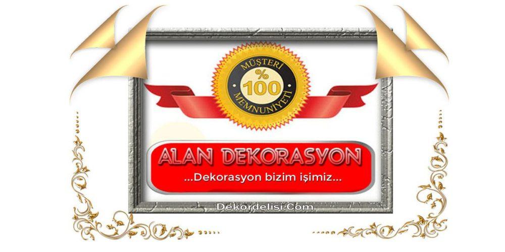 Alan dekorasyon bir dekorasyon şirketidir. Şirket logomuz