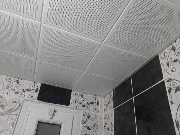 klipin asma tavan banyo