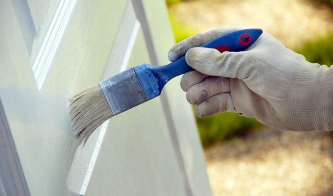 amerikan panel kapı boyama