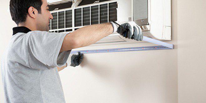 mantolama üzerine klima montajı