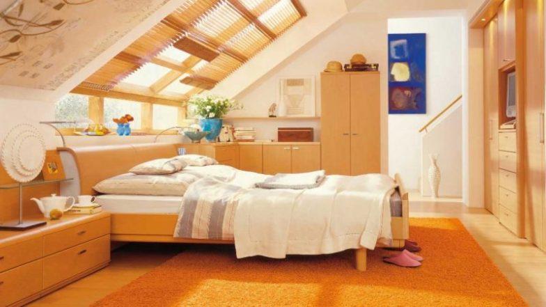 çatı katı çocuk odası