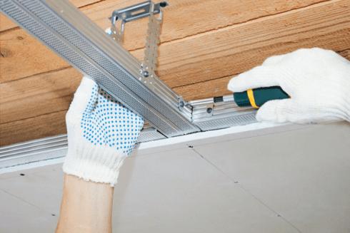 asma tavan montajı