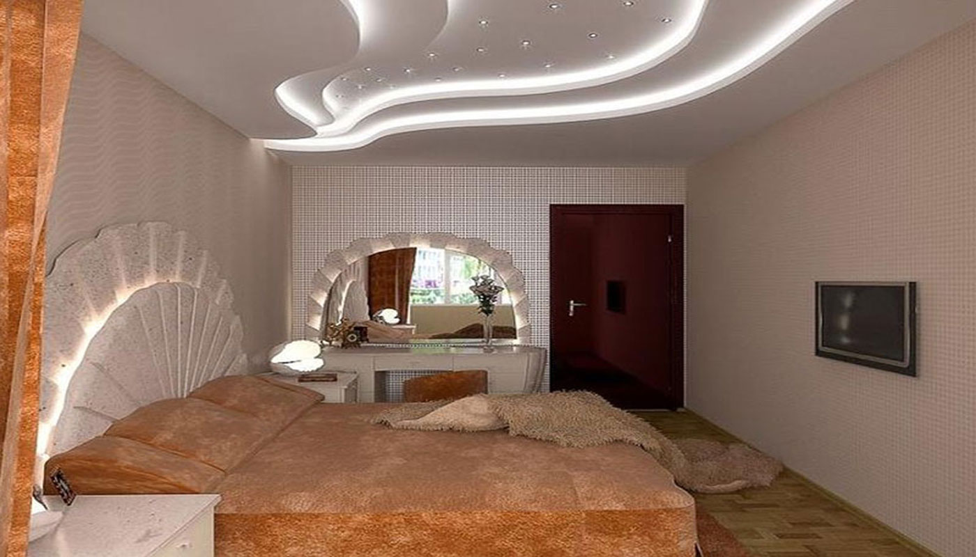 yatak odası için asma tavan 2