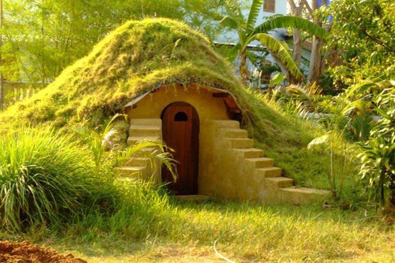 hobbit ev çatısı