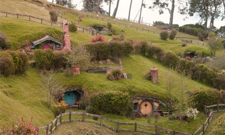 Hobbit tarz evler 1