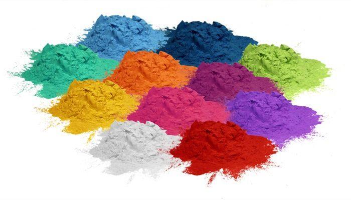 farklı renk pigmentler