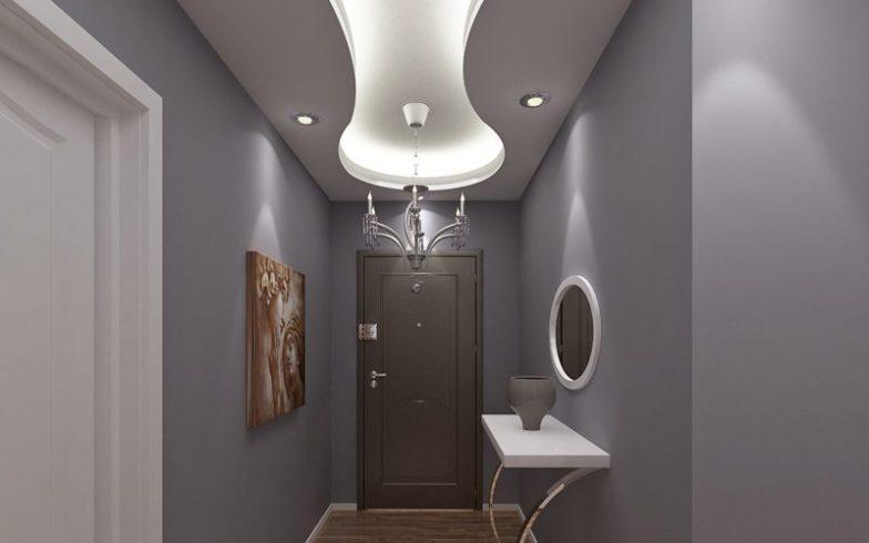 koridor alçı tavan