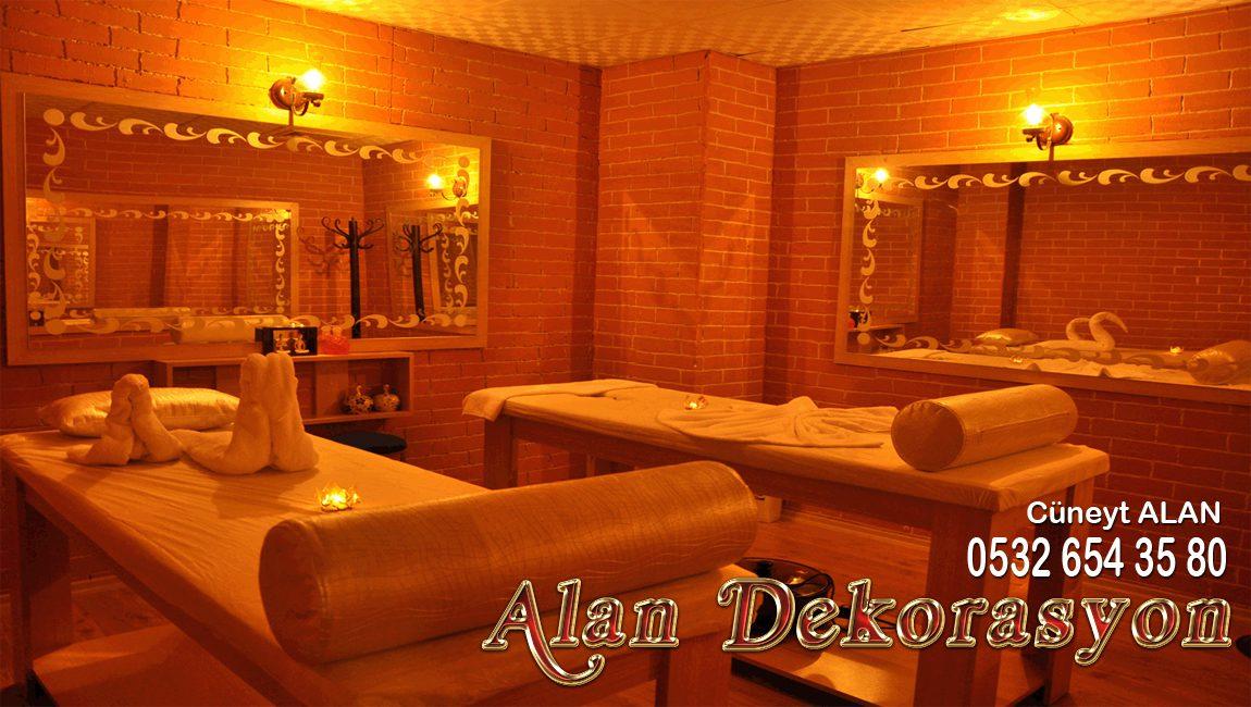 masaj salonu dekorasyon tadilat