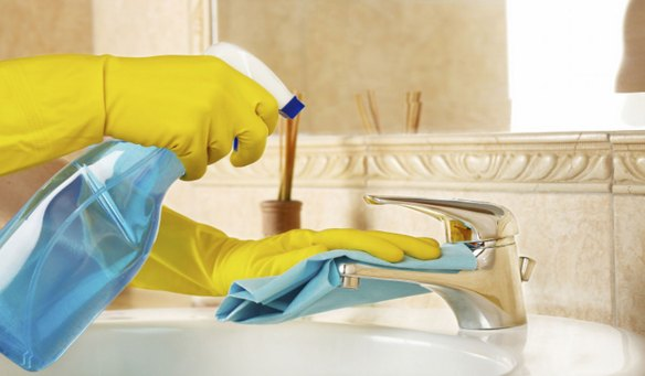 banyo temizliği